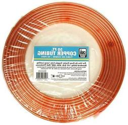 "1/4"" x 50' Copper Tube Use As Water Supply Line For Evaporat"