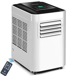 COSTWAY 10,000 BTU Portable Air Conditioner Unit with Dehumi