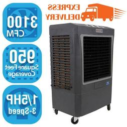 Hessaire 3,100 CFM 3-Speed Portable Evaporative Cooler