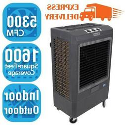 Hessaire 5,300 CFM 3-Speed Portable Evaporative Cooler  for