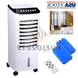 65W Portable Air Cooler Fan Indoor Evaporative Cooling Humid