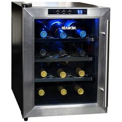 Newair - 12-bottle Wine Cooler - Black