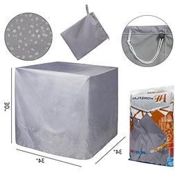 Air Conditioner Cover for Home HVAC System  - 34 Inches  x 3