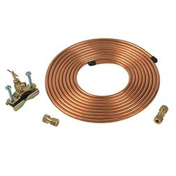Copper Ice Maker / Humidifier Installation Kit