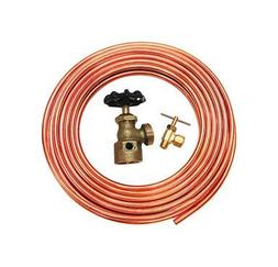 Dial Copper Tube Hook-Up Kit 1/4 1/4 Comp X 1/8 Mpt Polybagg