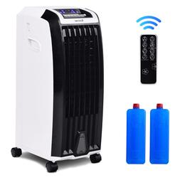 Evaporative Portable Air Conditioner Cooler Fan Anion Humidi