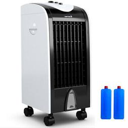 Evaporative Portable Air Cooler Fan Humidify W/Filter Knob C