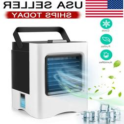 Evaporative Portable Air Conditioner Cooling Air Fan Humidif