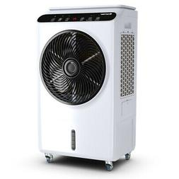Evaporative Portable Air Cooler Fan & Humidifier with Remote