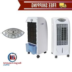 Home Room Air Cooler Wheeled Lightweight Evaporative Humidif