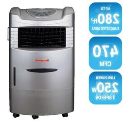 Honeywell 470 CFM 4-Speed Indoor Portable Evaporative Cooler