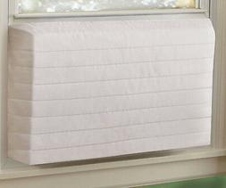 Indoor AC Cover IN STOCK White Quilted Keep Cold Air Out  Ai