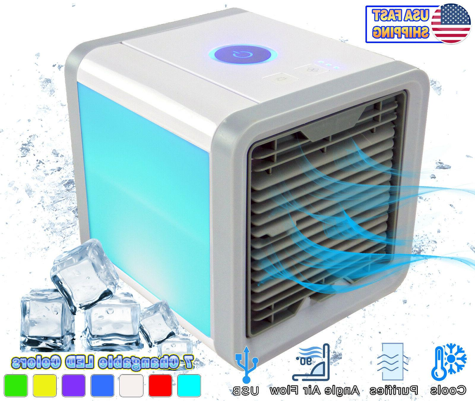 2 Personal Air Conditioner Small Portable Cooler Purifier Hu