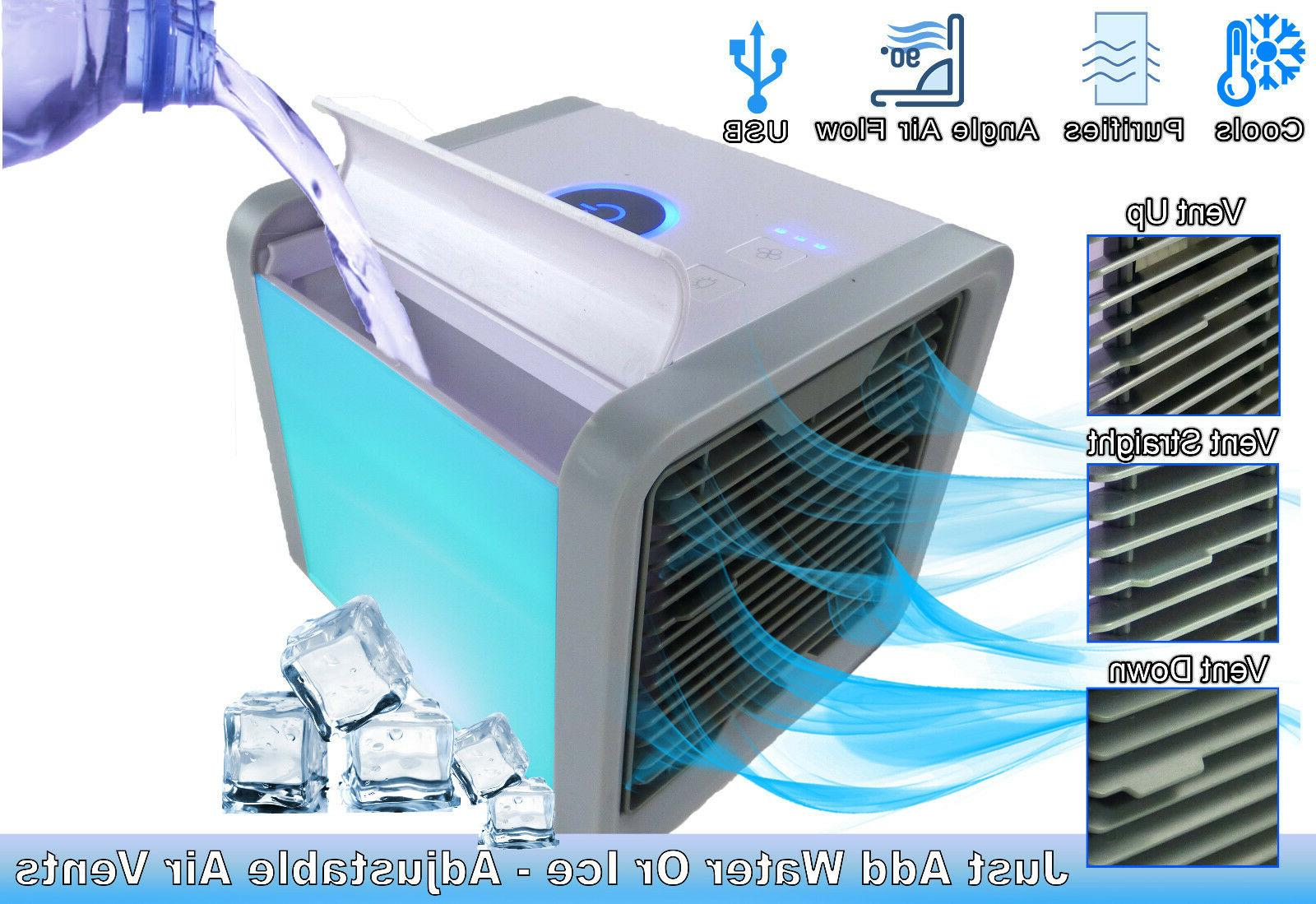 Personal Small Portable Cooler Purifier Humidifier Evaporative