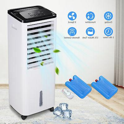Evaporative Cooler Fan 200W Humidifier Ft. Coverage w/Remote