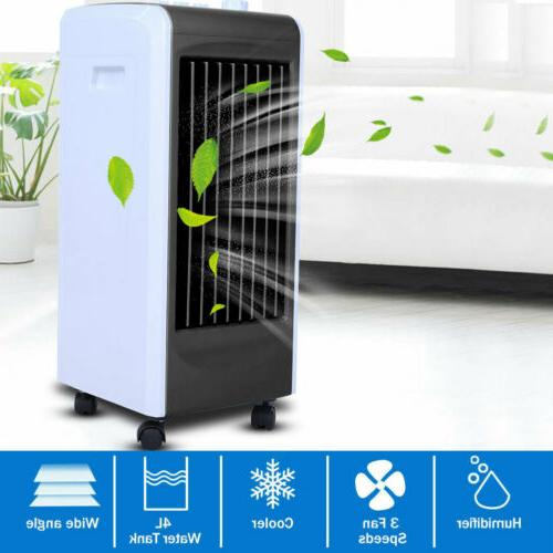 4L Air Cooler Fan Room Cooling Air Conditioner