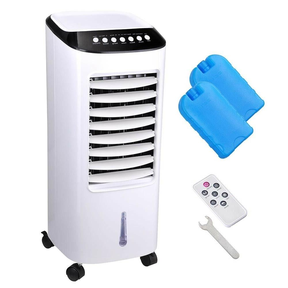 65W Portable Evaporative Air Conditioner Fan w/ Remote Control