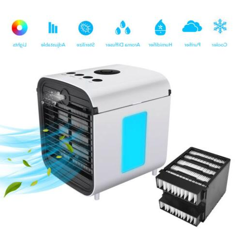 7 IN 1 Personal Air Cooler Fan Portable Air Conditioner Humi