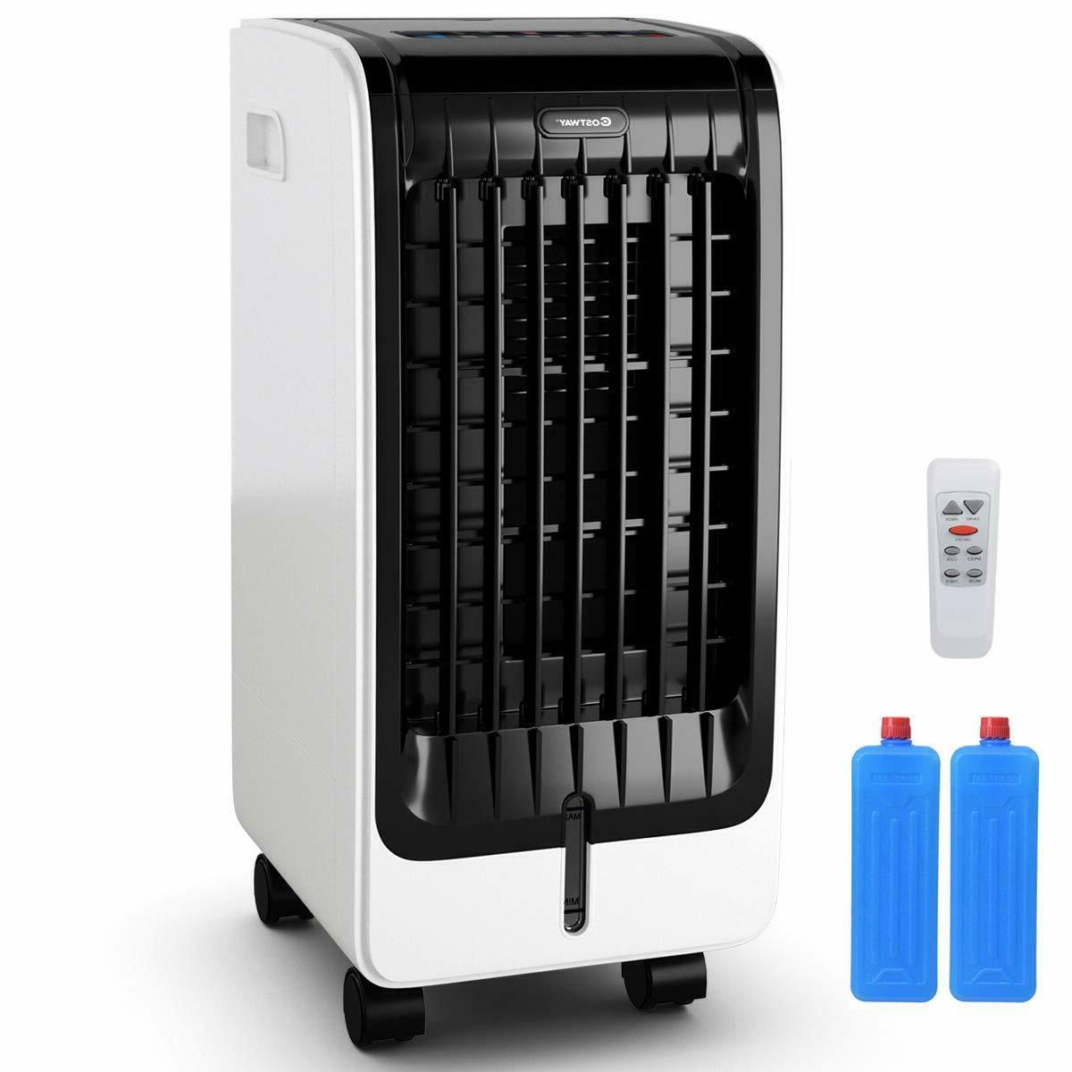 COSTWAY Air Cooler, Portable Evaporative Air Cooler with Fan
