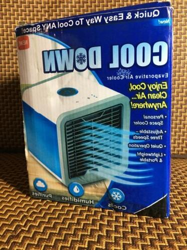 cool down evaporative air cooler usb desktop