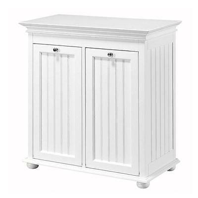 Double Hamper Out Cabinet Storage