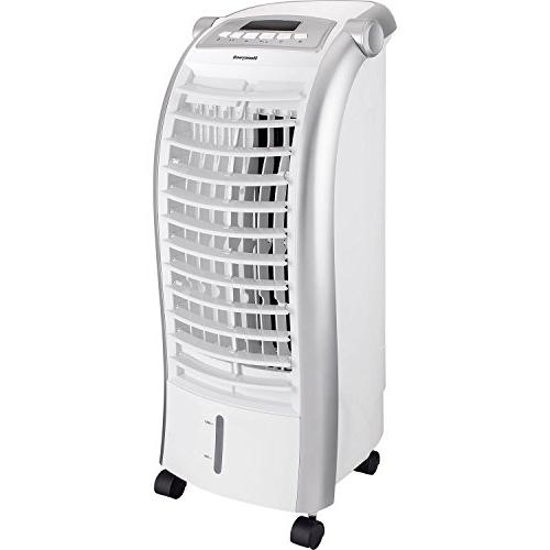 CFM Indoor Portable Cooler with Ice Pack, White Comfort