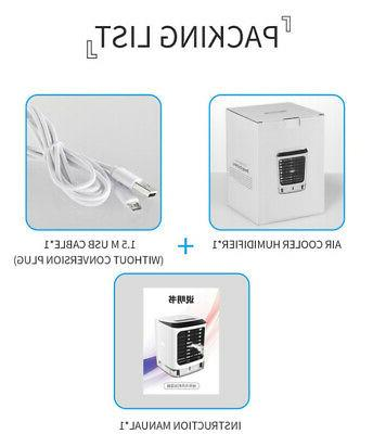 Evaporative Air Cooler Fan Humidifier Air Cool Office 2020