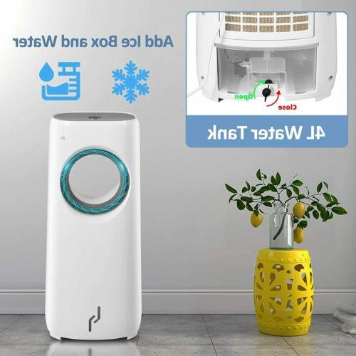 Evaporative Air Fan with Remote LED