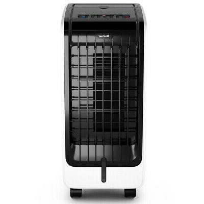 Evaporative Portable Fan Cooling Touch Pad Remote