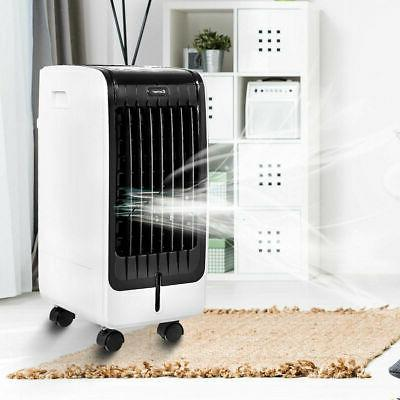 Evaporative Air Fan Conditioner Cooling Pad Office