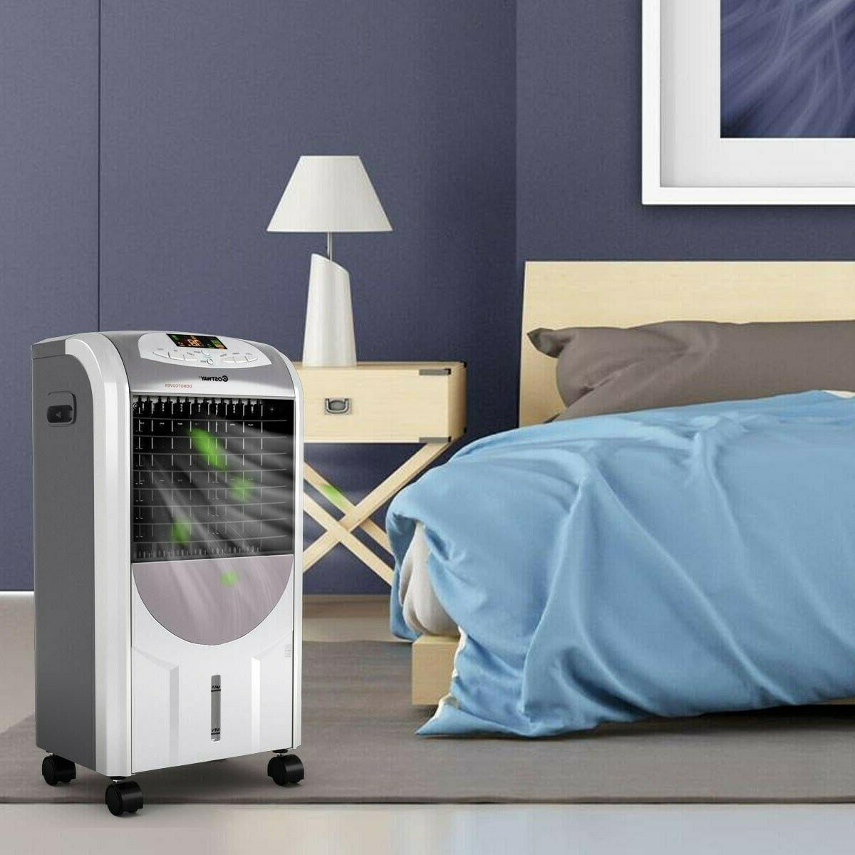 Evaporative Portable Cooler Fan and with Remote Control