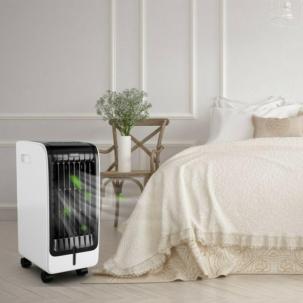 Evaporative Cooler Home with Control