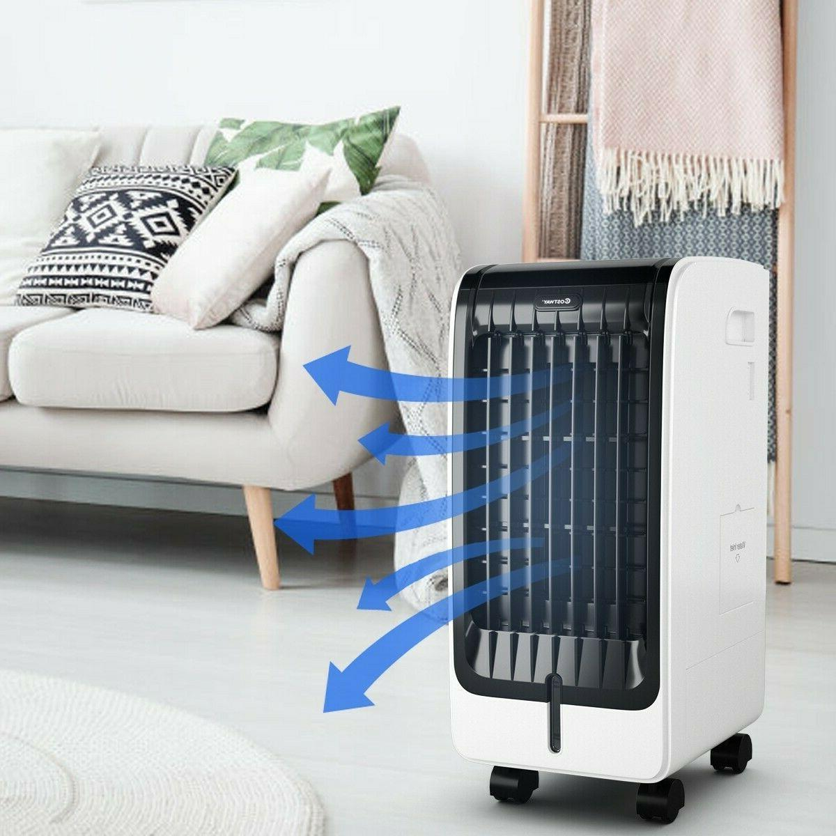 Evaporative Portable Cooler with Remote Control