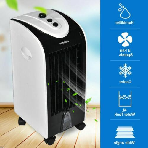 Evaporative Portable Cooler Humidifier W/Filter Bedroom Home