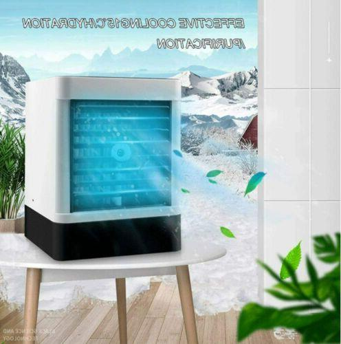 Evaporative Portable Cooler Fan Humidifier Air Cooling