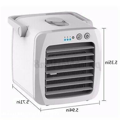Evaporative Portable Cooler Fan Humidifier With USB Cooling