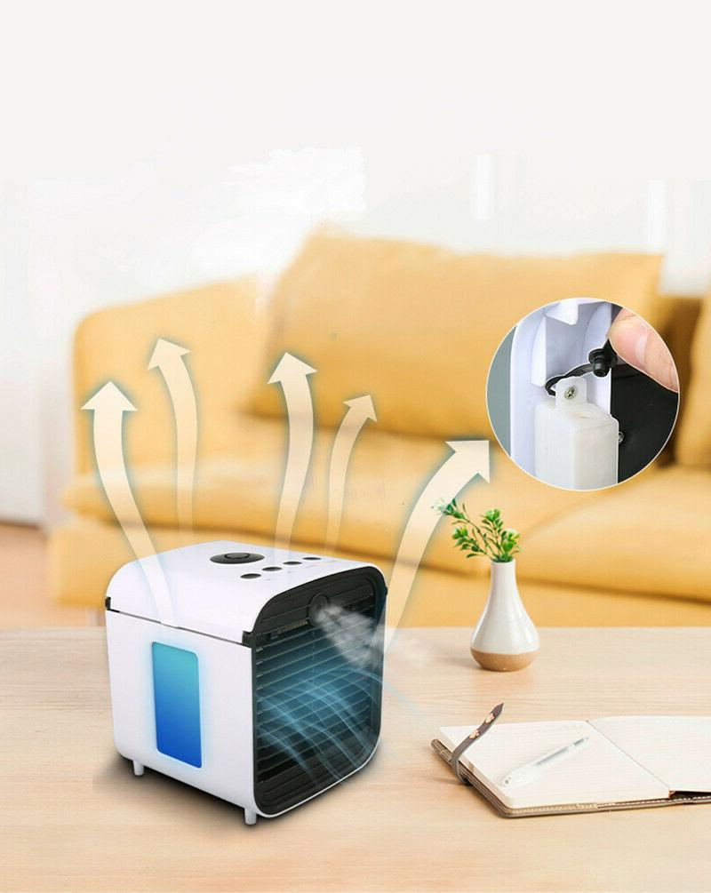 Evaporative Conditioner Mini Cooler Fan Humidifier Air Cooling