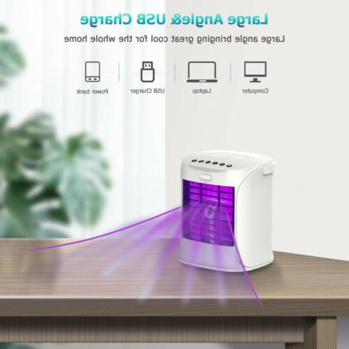 Portable Air Fan Evaporative Humidifier Cooling