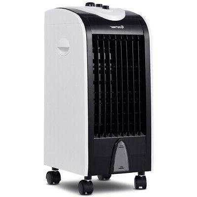 evaporative portable air conditioner cooler with filter