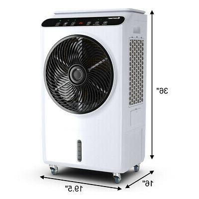 Evaporative Portable Air Fan & Remote Control 12