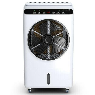 Evaporative Portable Air Cooler Fan Humidifier Remote Control Timer