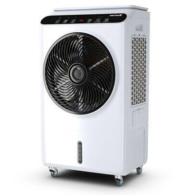 evaporative portable air cooler fan and humidifier
