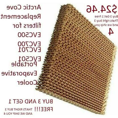 filter media replacement for evaporative cooler evc501