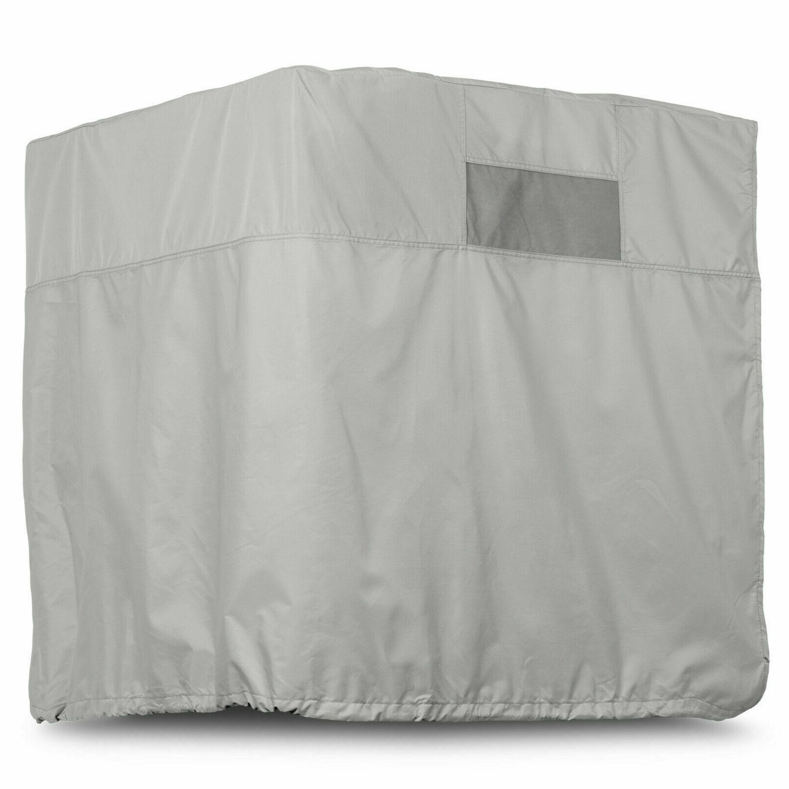 heavy duty evaporative swamp cooler cover down