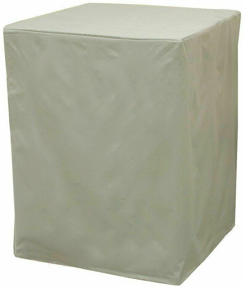 heavy duty evaporative swamp cooler cover side