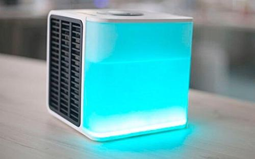 kfp670 portable personal air cooler chrystal white