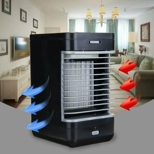 mini air conditioner cooler humidifier desktop cooling