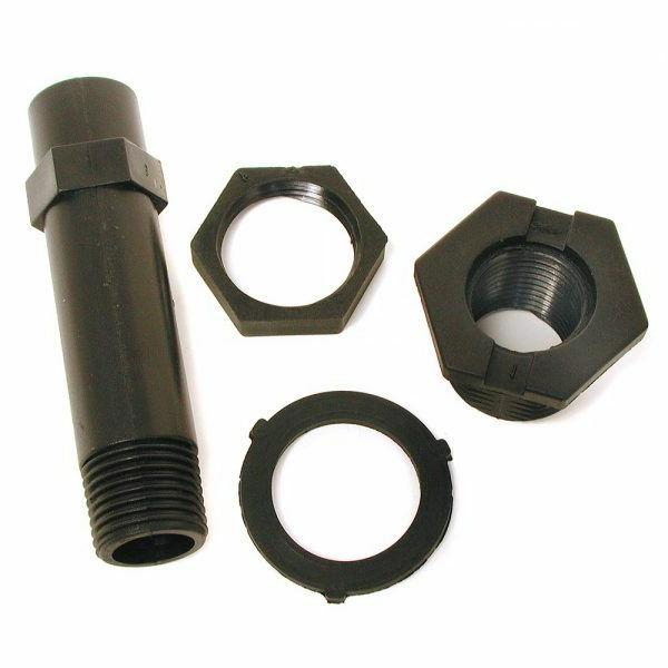 nylon drain and overflow pipe kit