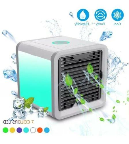 personal air cooler evaporative humidifier and cleaner