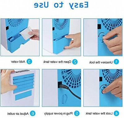 Personal - Evaporative Air Conditioner with 4-in-1 Fan